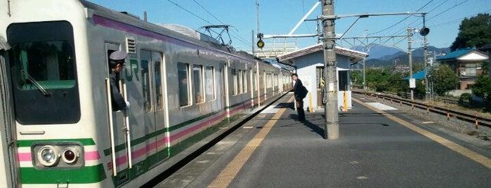 Omata Station is one of JR 키타칸토지방역 (JR 北関東地方の駅).