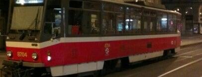 Myslíkova (tram) is one of prag.