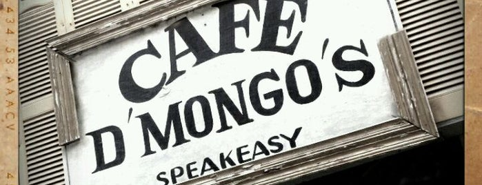 Cafe d'Mongo's is one of Bars to try.