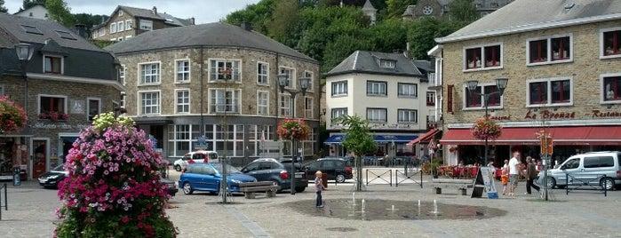 Place du Bronze is one of La Roche-en-Ardenne.