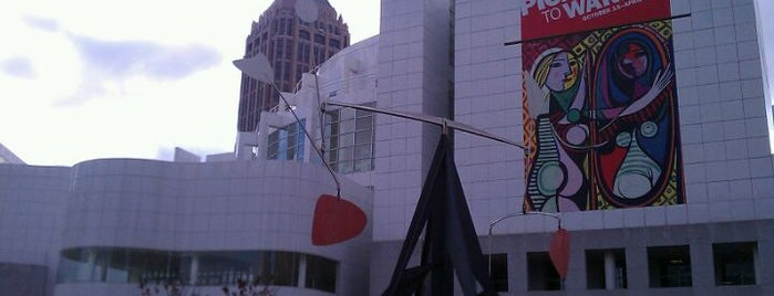 High Museum of Art is one of Support Independent Film.