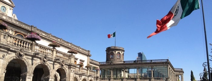 Museo Nacional de Historia (Castillo de Chapultepec) is one of Museos Obligatorios.