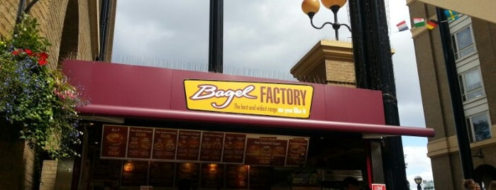 Bagel Factory is one of England.