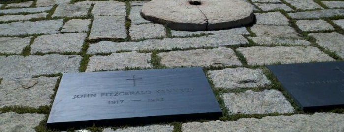 John F. Kennedy Eternal Flame is one of Places that are checked off my Bucket List!.