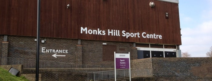 Monks Hill Sports Centre is one of GLL Leisure Centres, Gyms, Pools.