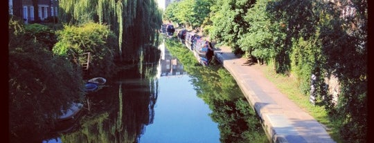 Regent's Canal is one of London, somewhat....