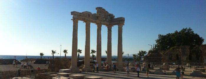 Side is one of Historical Places in Antalya - Ören Yerleri.