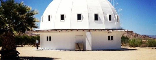 Integratron is one of desert holiday.