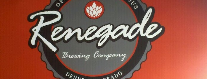 Renegade Brewing Company is one of Denver Breweries.