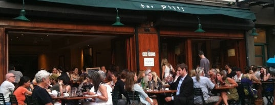 Bar Pitti is one of Greenwich Village (R).