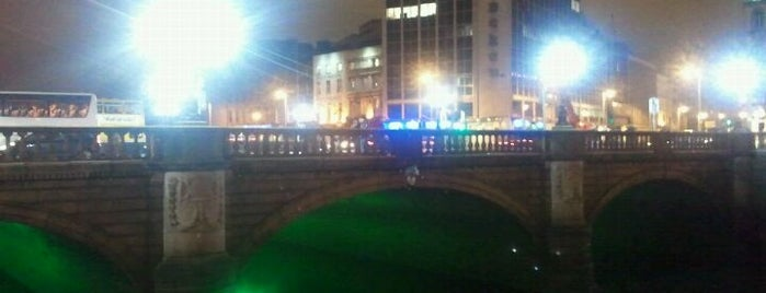 O'Connell Bridge is one of Dublin City Guide.