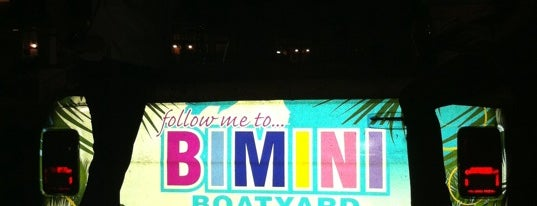 Bimini Boatyard Bar & Grill is one of New Times' Best Of Broward-Palm Beach.
