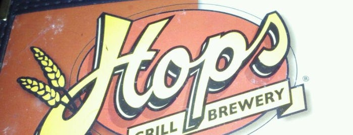 Hops Grill & Brewery is one of Breweries.