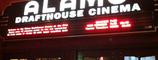 Alamo Drafthouse Cinema is one of Austin, TX.