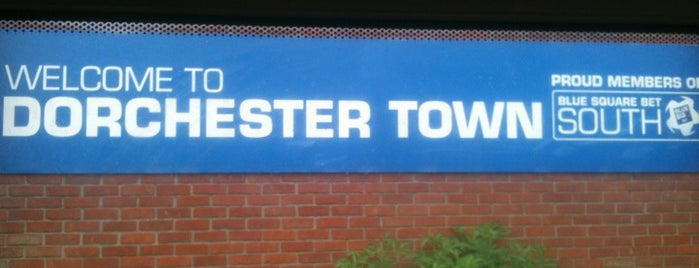 Dorchester Town FC is one of Tempat yang Disukai Carl.