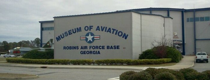 Museum of Aviation is one of How to enjoy Warner Robins!.