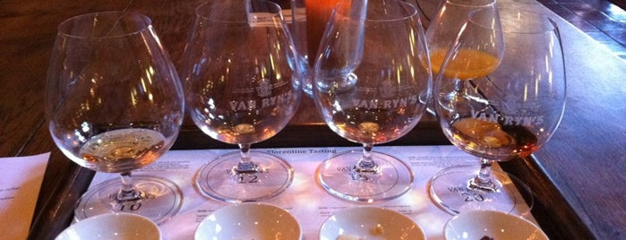 Van Ryn's Brandy Distillery is one of Cape Town.