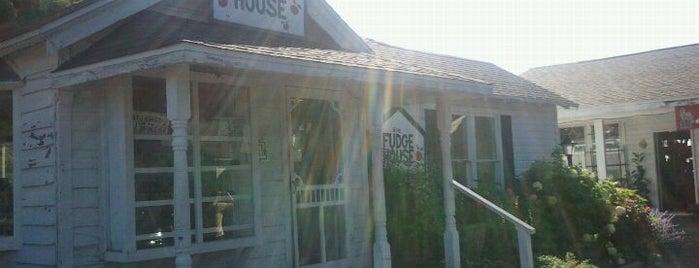 The Fudge House is one of Tempat yang Disimpan Jeff.