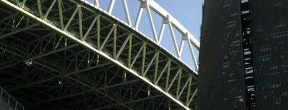 Lumen Field is one of Stadiums.