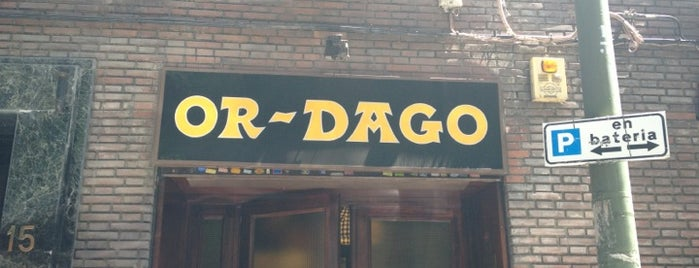 Or-Dago is one of Madrid not faraway.