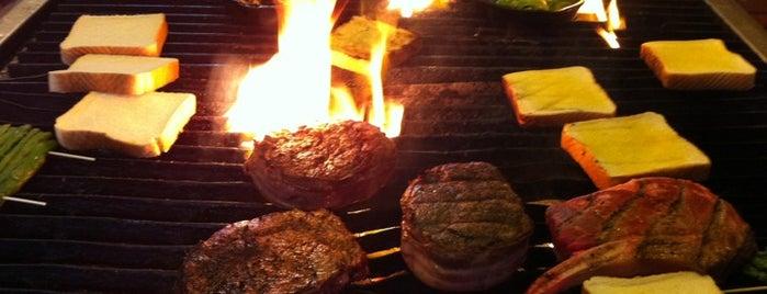 Rubes Steakhouse is one of Tempat yang Disimpan Chris.