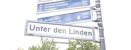 Unter den Linden is one of Funky Berlin.