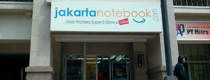 JakartaNotebook.com is one of Lieux qui ont plu à Hana.