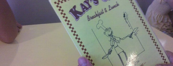 Kay's Cafe is one of Greasy Spoons.