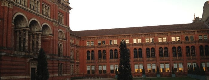Victoria and Albert Museum (V&A) is one of London Calling.