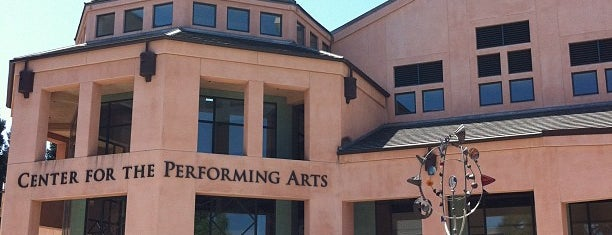 Mountain View Center for the Performing Arts is one of Lugares guardados de Jyothsna.
