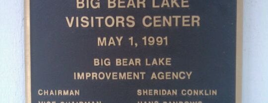 Big Bear Lake Visitor Center is one of Big Bear Lake (Anti-Zombie Survival).
