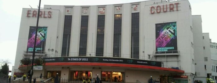 Earls Court Exhibition Centre is one of The Fashionista's Guide to London, UK.