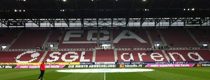 WWK ARENA is one of 'Stadium Talk'....
