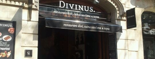 Divinus is one of Barcelona must see's.