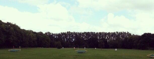 Hersham Golf Club is one of Round of golf anyone?.