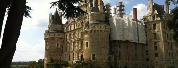 Château de Brissac is one of Roadtrip / Loire.
