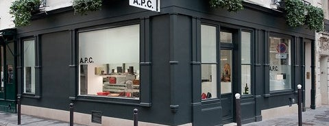 A.P.C. is one of so cal.
