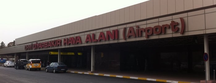 Diyarbakır Havalimanı (DIY) is one of Türkiye'deki Havalimanları.