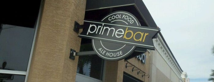 Primebar is one of Rob's Food Spots.