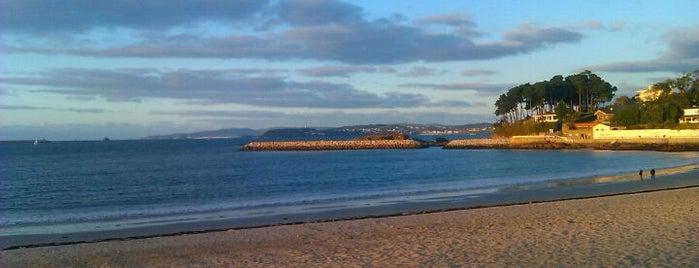 Praia de Santa Cristina is one of Playas de España: Galicia.