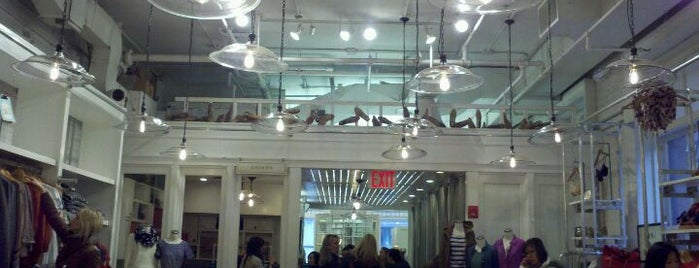 Madewell is one of TODO New York City.