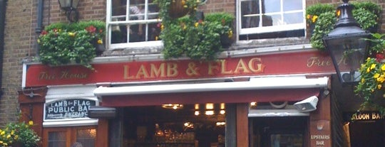 The Lamb & Flag is one of Places to Visit in London.