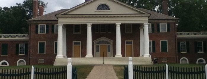 James Madison's Montpelier is one of Mr. President, Mr. President....