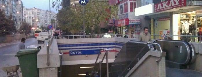 Üçyol Metro İstasyonu is one of izmir.