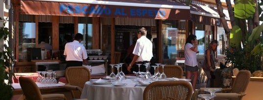 Restaurante Nuevo Reino is one of Marbella.