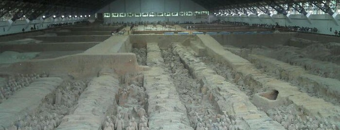 Museum of the Terracotta Warriors and Horses of Qin Shihuang is one of The Ultimate Bucket List.