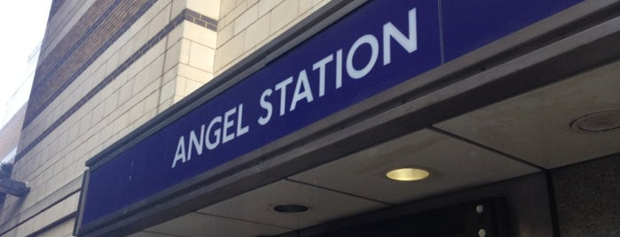 Angel London Underground Station is one of This is London.