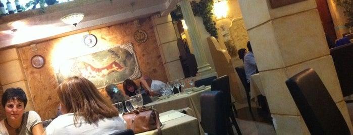 Milos is one of Favorite eat&drink places in Madrid.