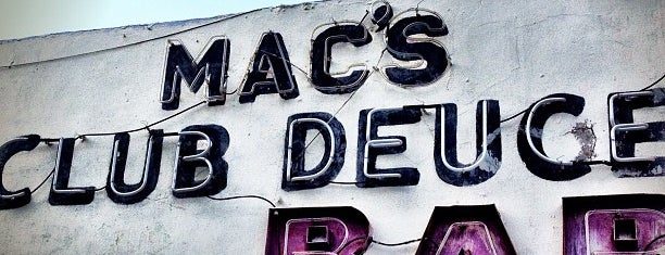 Club Deuce is one of Spring Break 2012 – Miami.