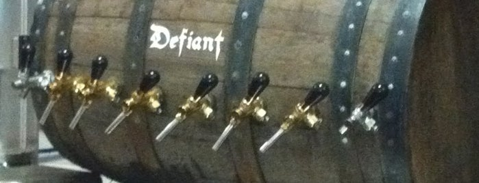 Defiant Brewing Co. is one of Behold! Our Local Breweries!.